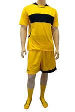 3X Hummel Sport Camiseta Balonmano 03-968 Tp Ss 5001 Amarillo/Azul XL Nuevo