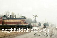 Boston & Maine RR 1127  Northfield NH Dec 1969  Bert Southwick Delivery Wagon