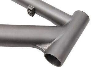 "J&L Titanium MTB/Mountain bike frame-XC/Ti/14~23""-1450g-Double butted,in Matte"