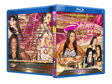 Official Shine Volume 12 Female Wrestling Event Blu-Ray