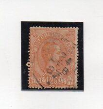 Italia Monarquias Paquetes Postales valor del año 1884-86 (AO-878)