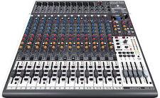 Behringer X2442USB Premium 24-input 2-Bus mixer XENYX mic preamps, comp, USB