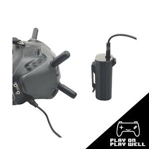 Belt Battery Storage Case Box Pocket Clip Holder for DJI FPV COMBO Goggles V2
