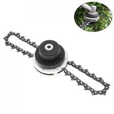 330mm Steel Garden Grass Trimmer Head Coil Chain Brush Cutter for Garden Mower