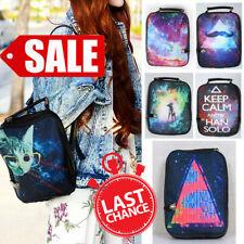 SALE Digital Print Nebula Cosmic Galaxy Space Universe Backpack Hand Bag Purse