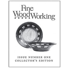 Fine Woodworking Magazine Issue Number One Limited Collectors Edition