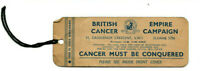 Vintage Bookmark BECC British Empire Cancer Research Campaign King Lord Horder