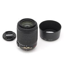 Nikon 55-200mm f4-5.6 G VR DX Nikkor Zoom Lens (#99156)