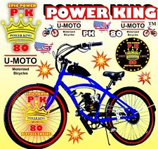Power 66cc/80cc 2-Stroke Motorized Bike Kit And 26� Cruiser Bicycle Diy Scooter