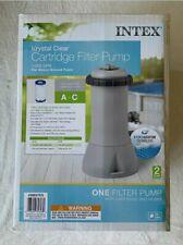 ✅NEW Intex Krystal Clear Cartridge Filter Pump 1000GPH for Pools 🚀Fast SHIP!
