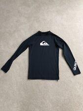 Black long sleeved T shirt