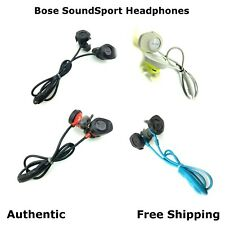 Authentic Bose SoundSport Wireless Headphones Citron/ Blue/ Black/ Red READ!!!