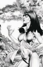 Vampirella Dejah Thoris #1 Jay Anacleto Vampirella Virgin Sketch MEGA EXCLUSIVE