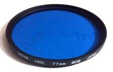 Hoya 77mm Multi-Coated HMC 80B 80 B Conversion Glass Lens Filter 77 mm 80-B MC