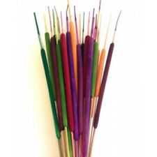 Dried Cattails Colored Pencil Fall Flowers Dry Material Color Cattails Set of 10