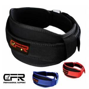 Waist Support Belt Heavy Weight Lifting Lumbar Work Lower Back Strap Brace CFR