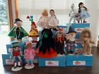 """12 Madame Alexander 8"""" Wizard of Oz dolls with boxes & stands - South Bend, IN"""