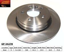 Disc Brake Rotor fits 2004-2010 BMW 530i 528i 525i  BEST BRAKES USA