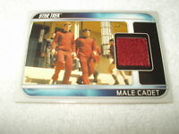 Star Trek Costume Relic Card Movie Male Cadet CC10