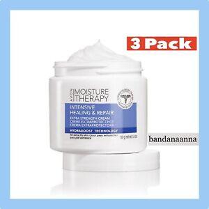 Avon Moisture Therapy Intensive Healing Repair Extra Strength Cream 5.3oz 3 PACK