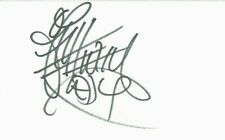 ANTHONY KIEDIS Signed Card Cut 4x6 Authentic Autograph RED HOT CHILI PEPPERS