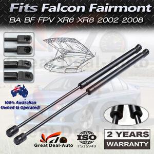2x Bonnet Gas Struts for Ford Falcon Fairlane BA BF 2002-2008 FPV XR6 XR8 GT