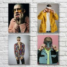 Bad Bunny Poster A4 New Set Sexy Hot Man Home Wall Decor