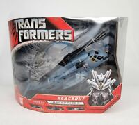 Transformers 2007 Movie Voyager Class Blackout - NEW