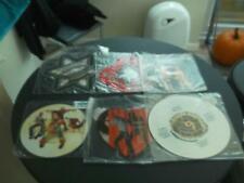 """Job Lot Of 6 X 12"""" Vinyl Record Picture Discs - Coloured Vinyl Rock / Pop Ex/Ex"""