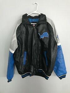 G-III Detroit Lions Full-Zip Jacket Size XL