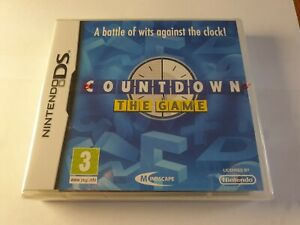 Countdown The Game Nintendo DS Game New & Sealed FREE UK POSTAGE