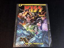 Kiss Rock Bam Box Dynamite Comic #1 SIGNED by John Lucas SEALED VF