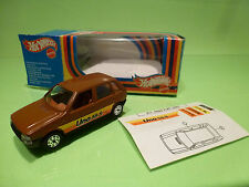 MEBETOYS  FIAT UNO 55S - BROWN 1:43 - NEAR MINT IN BOX