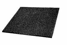 IncStores Berber Carpet Tiles Black 20 per pack