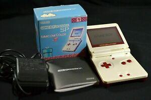 Complete Nintendo Game Boy Advance SP Famicom NES Universal Console Box Japan