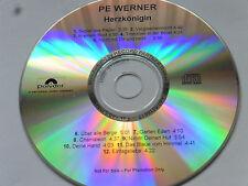 Pe Werner   Herzkönigin   2000   Promo Album - CD   12 Tracks   super mega rar!!