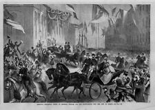 GERMANY TRIUMPHAL ENTRY OF EMPEROR WILLIAM AND THE CROWN PRINCE INTO BERLIN