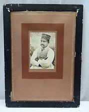 ANTIQUE PHOTOGRAPH OF INDIAN GENTLEMAN ROYAL PERSON VINTAGE PHOTOGRAPH IMAGE