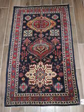 3x4ft. Antique Handmade Karaje Wool Rug