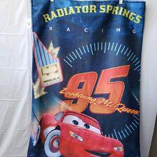 Disney Pixar Cars Lightning McQueen 2 in 1 Sleeping Bag / Blanket