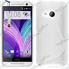 Housse etui coque pochette TPU silicone gel S-Line Pour HTC One Mini 2 (M8 Mini)