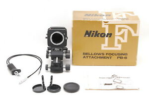 【MINT Boxed】Nikon BELLOWS PB-6 & PS-6 SLIDE COPYING ADAPTER +AR-7 From Japan 962