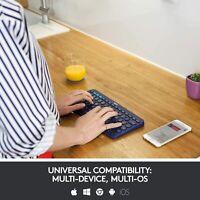 Logitech K380 Multi-Device Bluetooth Wireless Keyboard Ultra Mini Mute UK Hot