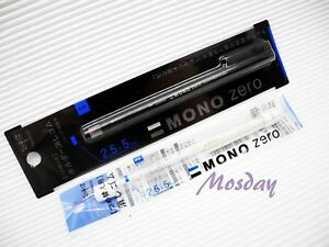 (1 Barrel + 2 extra Refills) Tombow Mono EH-KUS Retractable Rectangle Eraser, BK