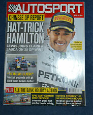 April Autosport Weekly Sports Magazines