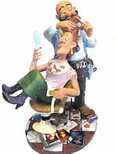 Profisti - Frisör Coiffeur Hairdresser XL Skulptur Figur 20613M