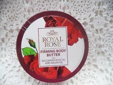 ROYAL ROSE OF BULGARIA FIRMING BODY BUTTER with Bulgarian rose oil 6.76 oz/200ml