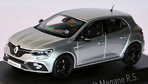 Renault Megane R.S. 2018 Platine Argent Métallique 1:43 Norev