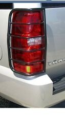 GMC YUKON , BLACK POWDER COATED TAIL LIGHT GUARD 2007-2012