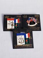Set Of 3 Vintage Collectible Atlanta 1996 Olympic Pins Paris 1900 1924 Atlanta
